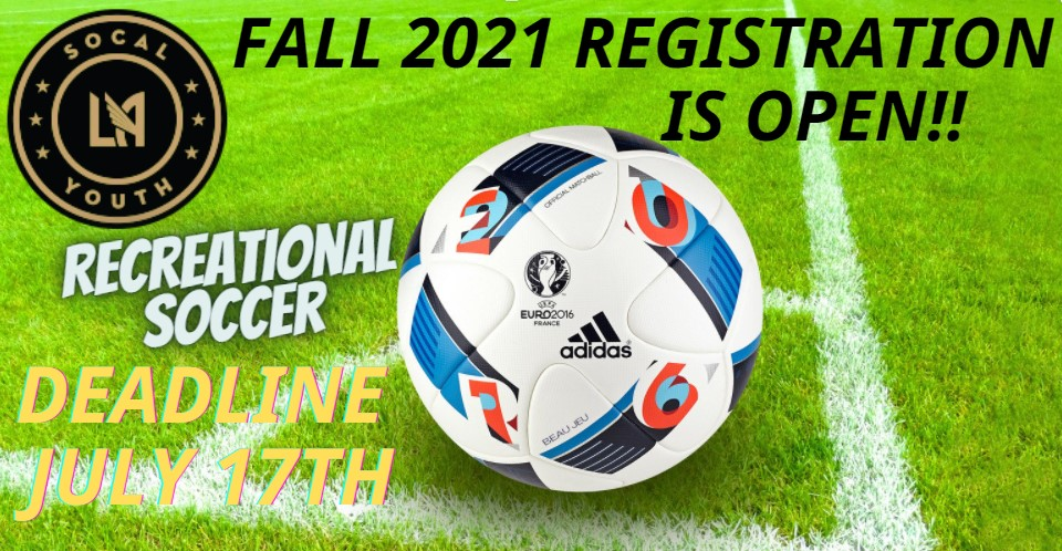 WVSL / LAFC So Cal Youth Spring Registration is OPEN