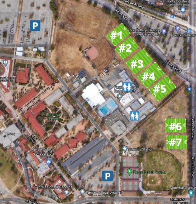 Pierce College Field map Up dated 9/12/2021